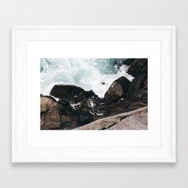 The Ocean Calls (Spring) Framed Art Print