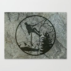 rockclimbing Canvas Print