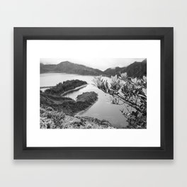Lac Azores Framed Art Print