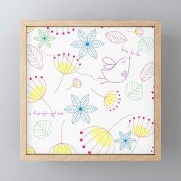 In The Springtime,Tra La La Framed Mini Art Print