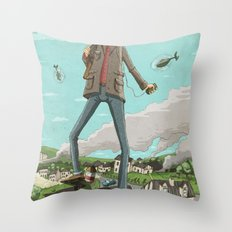 Tall Throw Pillow