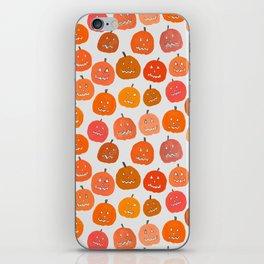 Jack-o-lanterns iPhone Skin