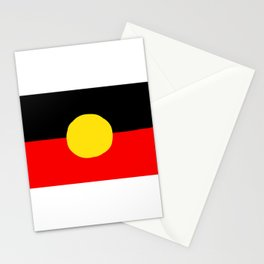 LAGIBAN (ABORIGINAL IN WAGIMAN ) BY IZA Stationery Cards