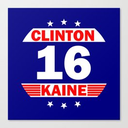 Clinton Kaine 16 Canvas Print