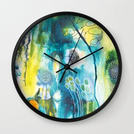 Cracks I - Where the light gets in Wall Clock