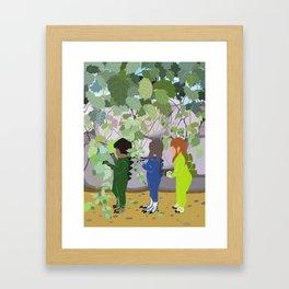 Bushsaurs Framed Art Print