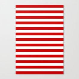 austria bahrain indonesia monaco peru tonga turkey switzerland flag stripes Canvas Print