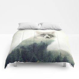 Fox, Forest Animal, Woodlands, Wilderness Comforters