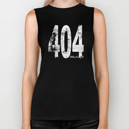 Vintage Atlanta Area Code 404 Biker Tank