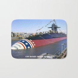 USS DANIEL BOONE (SSBN-629) Bath Mat