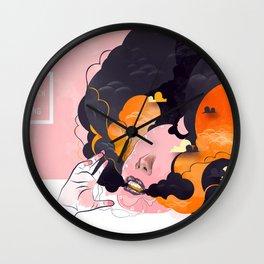 No Human #3 Wall Clock