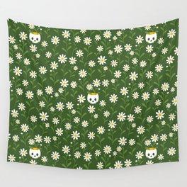 Pushing up daisies Wall Tapestry