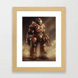 The Juggernaut Framed Art Print