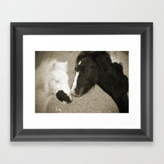 When We Touch Framed Art Print