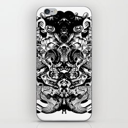 Scorn Pourer iPhone Skin