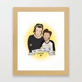 THE TOMLINSONS Framed Art Print