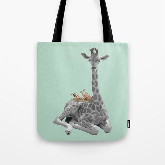 GIRAFFE (animals collection) Tote Bag