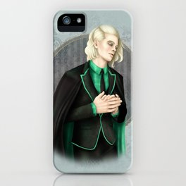 A Study In Green iPhone Case