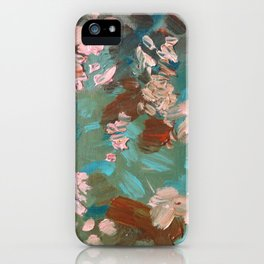 Revisiting Giverny - Original Fine Art Print by Cariña Booyens.  iPhone Case