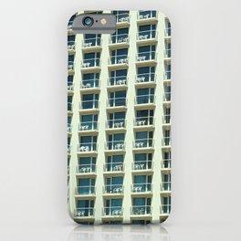 Tel Aviv - Crown plaza hotel Pattern iPhone Case