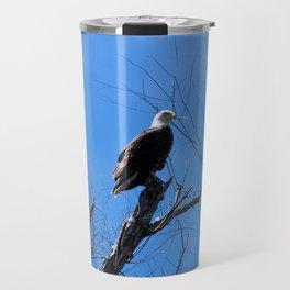 Clear Sight (Bald Eagle) Travel Mug