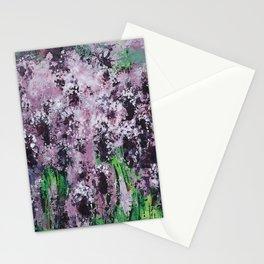 Carpet Of Lavender Stationery Cards