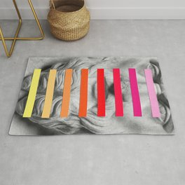 Sculpture With A Spectrum 2 Rug