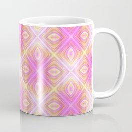 squareprint light pink Coffee Mug