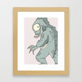 The Innsmouth Look Framed Art Print