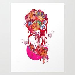 Seven Deadly Sins 'Gluttony' Art Print