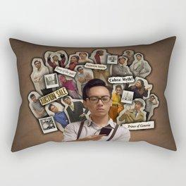 The Good News Poster 6 Rectangular Pillow