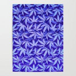 Purple Haze - Cannabis / Hemp / 420 / Marijuana  - Pattern Poster
