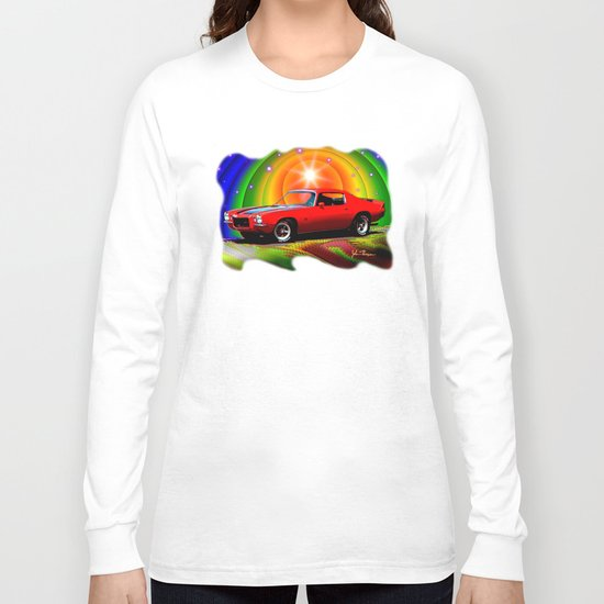 1970 Camaro Long Sleeve T-shirt