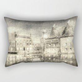 Three Mills Bow London Vintage Rectangular Pillow