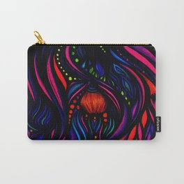 Fuchsia Glow Carry-All Pouch