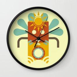 Tiki Tiki Wall Clock