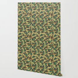 Woodland camouflage Wallpaper
