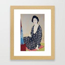 Woman in a Summer Garment by Hashiguchi Goyo, 1920 Framed Art Print