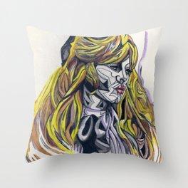 B.Bardot Throw Pillow