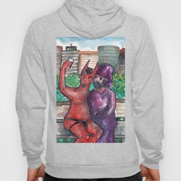 devil and wizard Hoody