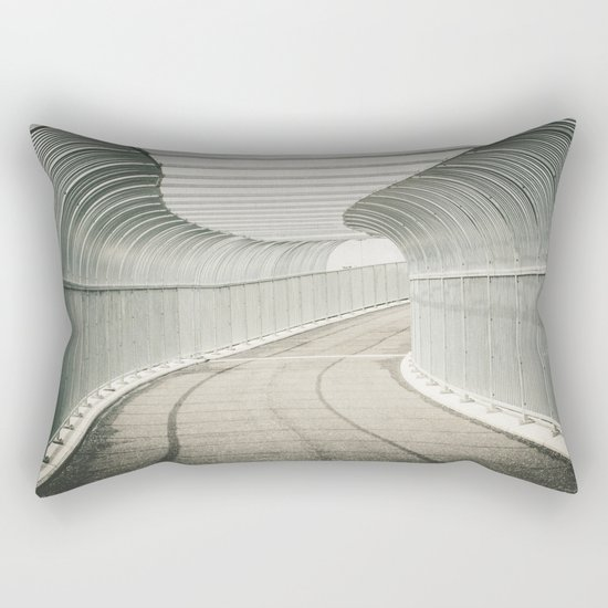 Caged Pathway Rectangular Pillow