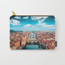 ponte vecchio in florence Carry-All Pouch