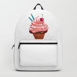 You can't buy happiness but you can buy cupcake Backpack