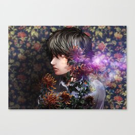 past and language Canvas Print