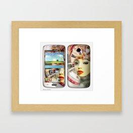 Concept Phone Skin #3 Framed Art Print
