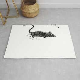 Little mouse  Rug