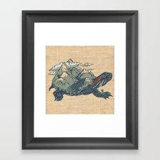 World Mover Framed Art Print