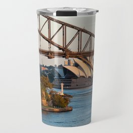 Sydney Opera House & Harbour Bridge Travel Mug