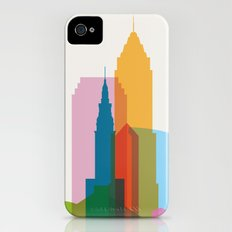 Shapes of Cleveland accurate to scale Slim Case iPhone (4, 4s)