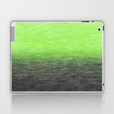 Ombre Lime Laptop & iPad Skin